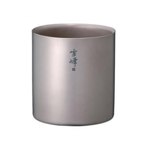 [스노우피크] Stecking Mug 雪峰 H200(스테킹 머그 雪峰 H200)