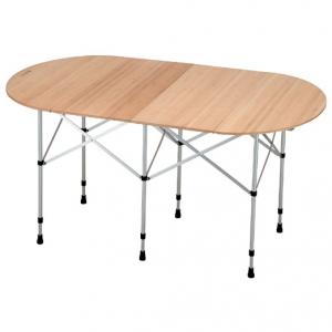 [스노우피크] 타원형 폴딩 테이블 대나무 (LV131T)