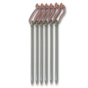 [힐레베르그] 티타늄 펙셋(Stinger Titanium Tent Pegs - 6 Pack)