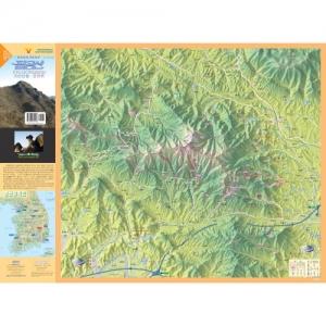 [버드맵] 팔공산 지도