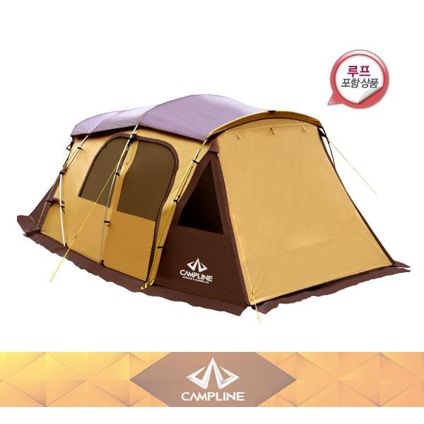 [캠프라인] 디럭스 리빙 쉘타 텐트