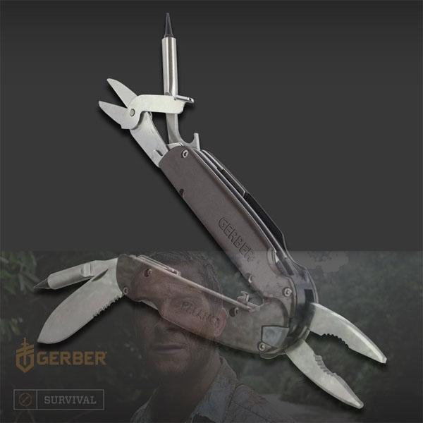 [거버] 멀티툴 밸런스 조 툴 그레이 [30-001250] Balance Jaw Tool Gray