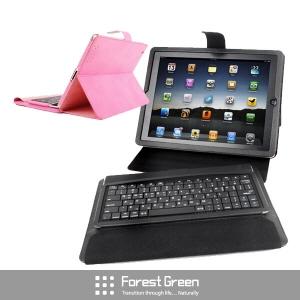 [포레스트그린] new iPad 키보드 케이스 FTKA-110