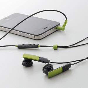 [엘레컴] EHP-SMIE110 BK/GN/WH 스마트폰 플레이트 이어폰 (전화통화 + 소리조절 가능)