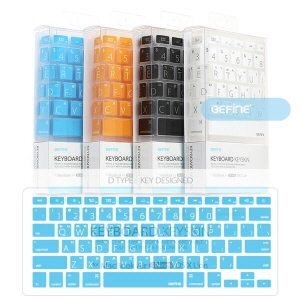 [비파인 BEFINE] 뉴 맥북 에어 13인치 라이언 버전 큰 글씨 디자인 키보드 키스킨 For New MacBook Air 13-inch Ver. Lion D-Type