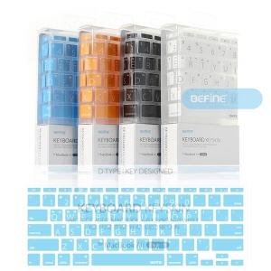 [비파인 BEFINE] 뉴 맥북 에어 11인치 큰 글씨 디자인 키보드 키스킨 For New MacBook Air 11-inch D-Type