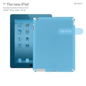 [비파인 BEFINE] 뉴 아이패드 고광택 액정보호필름 For New iPad