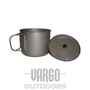 [바르고 VARGO] 티타늄 티-라이트 머그 900ml Titanium Ti-lite Mug (900 ml)