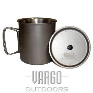 [바르고 VARGO] 티타늄 티-라이트 머그 750ml Titanium Ti-lite Mug (750 ml)
