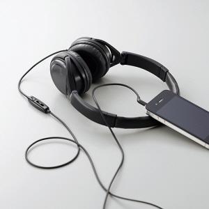 [엘레컴] EHP-SMOH300 BK 스마트폰 고급형 헤드폰 (전화통화 + 소리조절)
