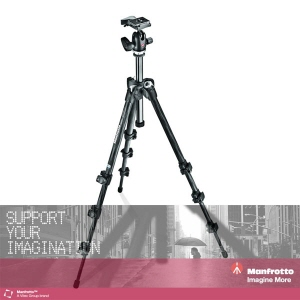 [맨프로토] 삼각대/헤드키트 MK293C4-A0RC2 293 KIT, 4-SECTION CARBON TRIPOD WITH QUICK RELEASE BALL HEAD