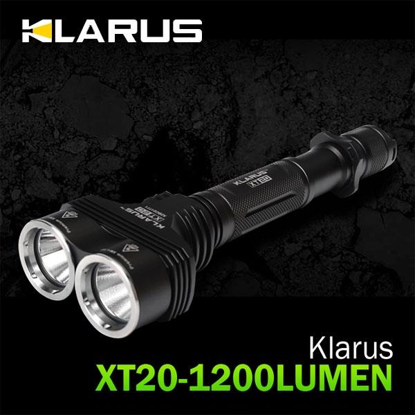 [클라루스] XT20-1200루멘 Super Bright Tactical Flashlight