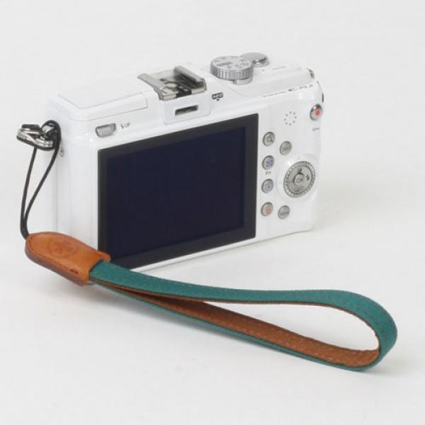 [아이코드] 카메라손목스트랩 퍼브릭10 에버그린 #10971