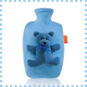 [파쉬 fashy] 핫팩 보온물주머니/1.4리터 곰인형-라이트블루