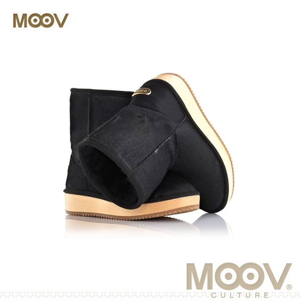 [무브 MOOV] MB12 런던(블랙)-SH 양털방한부츠