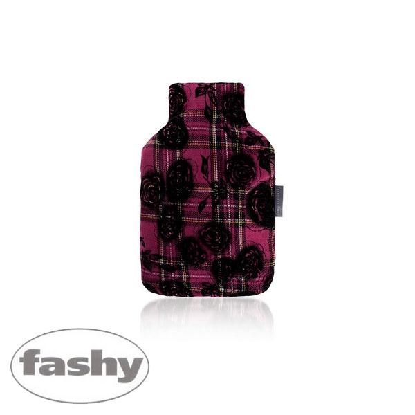 [파쉬 fashy] 보온물주머니 체크패턴장미커버 2.0L 핫팩/찜질팩 아트갤러리형