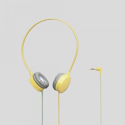 [엘레컴] EHP-OH200 BK/BU/BUL/RD/WH/YL 심플컬러 컴팩트 스테레오 헤드폰