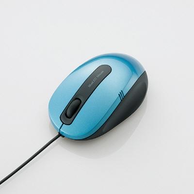 [엘레컴] M-BL17UB BK/PN/SV/BU/RD/WH 착해도 너무 착한 가격.마우스패드가 필요 없는 블루 LED 마우스 M