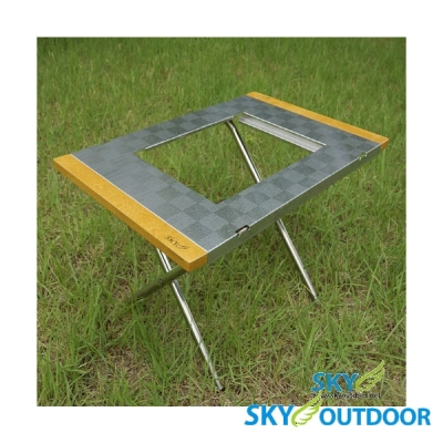 [스카이아웃도어] 캠핑 테이블 B650S 높이조절가능 / 수납가방
