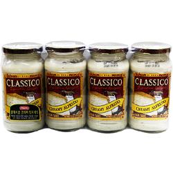 클래시코 크리미 알프레도 파스타 소스 1.7kg (425g*4병)