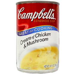 캠벨 크림 오브 치킨 머쉬룸 305g 13년4월3일