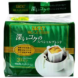 [Sale] ucc 유씨씨 드립커피 스페셜 블랜드(초록) 140g(7g×20봉) 12년12월27일