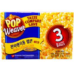 미국 전자렌지용 팝콘 버터맛 3개입 195g 13년4월29일