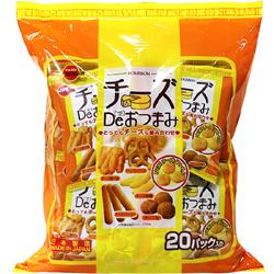 부르봉 치즈맛 오츠마미 400g (20g x 20봉지)