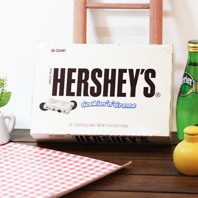 허쉬 쿠키앤크림 36Bars 1.58kg