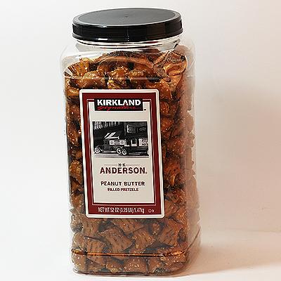 커클랜드 시그니처 앤더슨 피넛버터 필드 프리첼 1.47kg