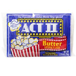 액트 투 전자렌지용 팝콘 버터맛 78g×18개 (한박스)