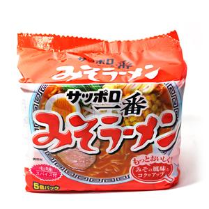 산요 삿뽀로 된장맛 라면 500g(100g*5봉지) 13년4월24일