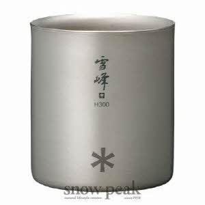 [스노우피크] Stecking Mug 雪峰 H300(스테킹 머그 雪峰 H300)