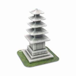 [해피페이퍼] 정림사지 5층석탑 만들기