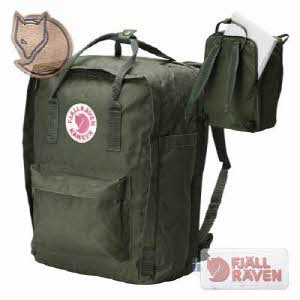 "[피엘라벤] Kanken Laptop 13"" Forest Green 칸켄 랩탑"