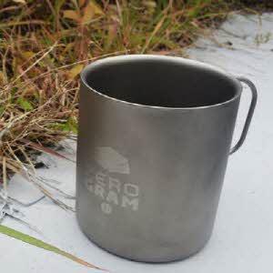 [제로그램] 티타늄 더블 머그컵 300