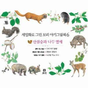 [보리] 보리 아기그림책. 6: 산짐승과 나무 열매(세밀화로 그린)(보드북)(전3권)