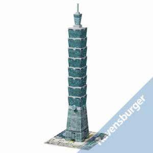 [라벤스부르거] 3D건축물퍼즐-타이페이101타워