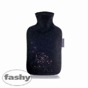 [파쉬 fashy] 보온물주머니 라인스톤 꽃자수 100%울커버 2.0L 핫팩/찜질팩 아트갤러리형
