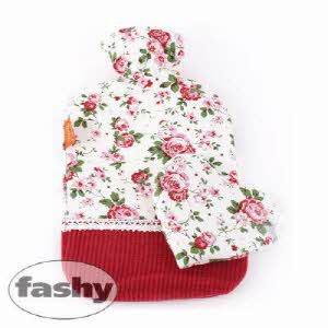 [파쉬 fashy] 보온물주머니 로즈가든핫팩2.0L+릴렉스 메밀 미니쿠션 핫팩/찜질팩 아트갤러리형