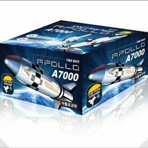 7000 아폴로 물로켓(고급낙하산세트/과학교재/교재
