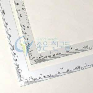 DRAWING 기역자/디자인기역자/의상디자인자 60cm