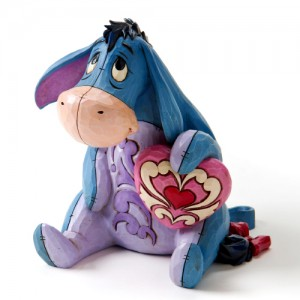 [Disney]Eeyore with Heart figuri(4026088)