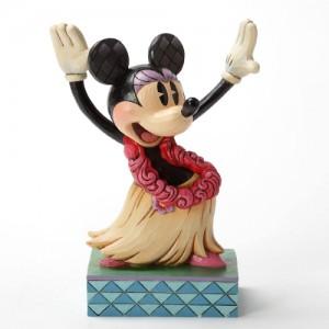 [Disney]Hawaiian Minnie Figurine(4032883)