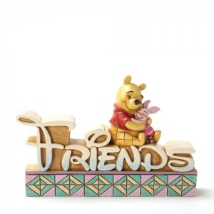 """[Disney]푸우: Pooh and Piglet 'FRIENDS' 4.5"""" (4032890)"""