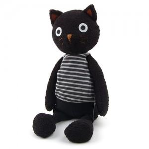 샤론 고양이 특대인형-검정