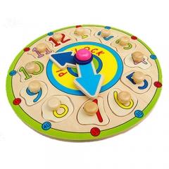 꼭지퍼즐(시간익히기)/학습교구,퍼즐>유아학습퍼즐
