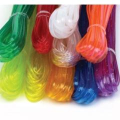 룰라끈(칼라비닐끈)/낱색/일반공예재료 >목걸이, 공예끈
