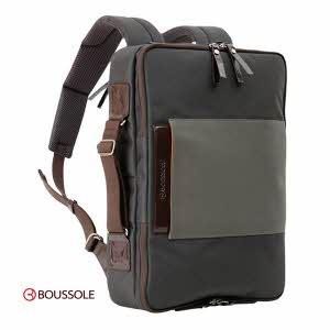 [부쏠 Boussole] 데이트립 다크 에디션 백팩 BackPack Day Trip Dark Edition BS-BP103DG - 맥북 프로 15인치 수납 가능 -