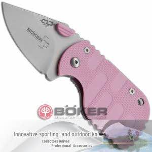 [보커] 나이프 서브콤 42(F) Pocket knife / Boker Plus Subcom 42 pink